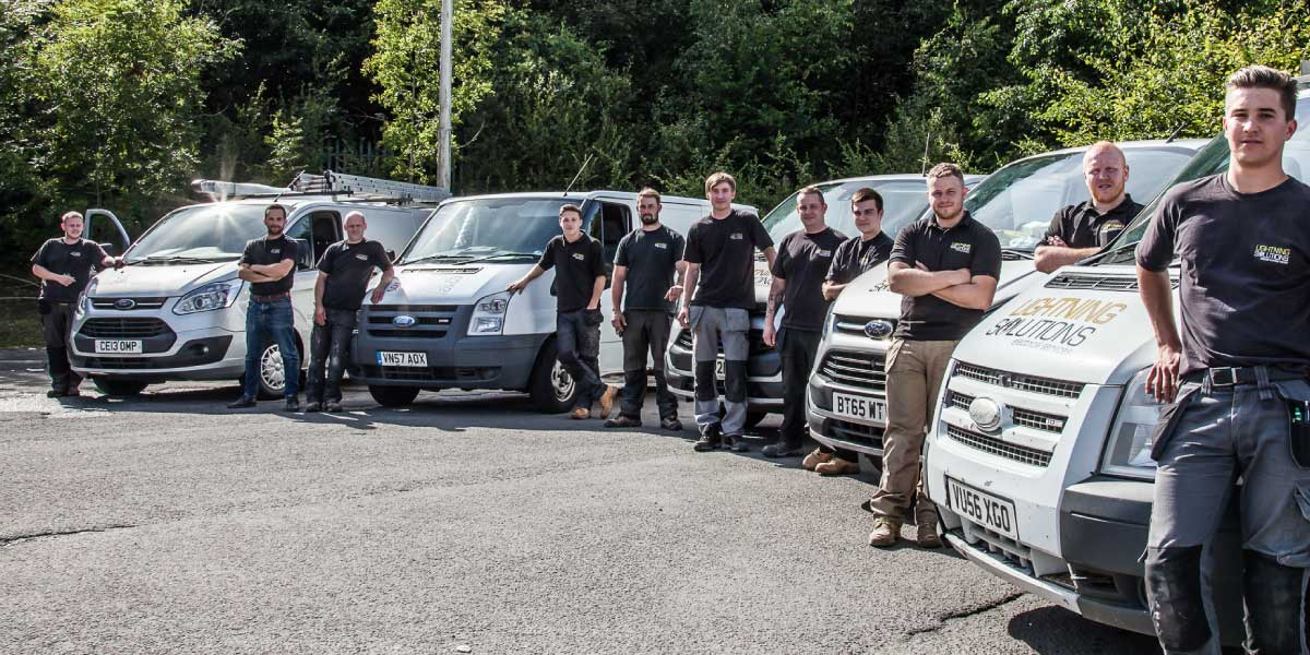 Lightning Solutions, qualified electrical contractors, electricians, electrical services, Merthyr Tydfil, South Wales